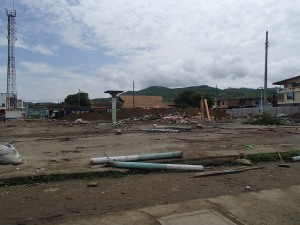 "The ""After"" Shot of the Puerto Lopez Market."