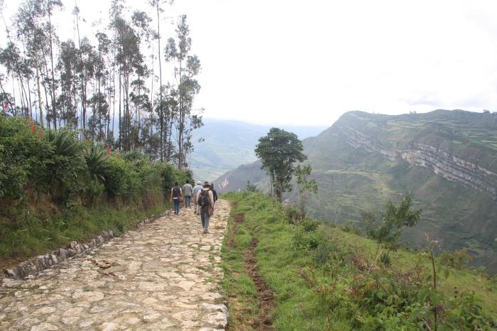 An Andean stroll.