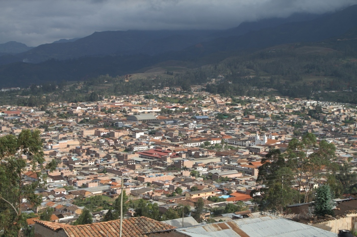 Chachapoyas - the big picture.