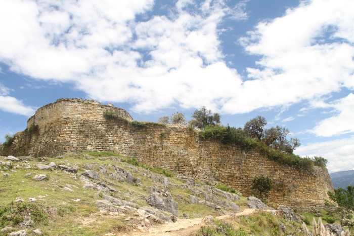 The Fortress of Kuelap.