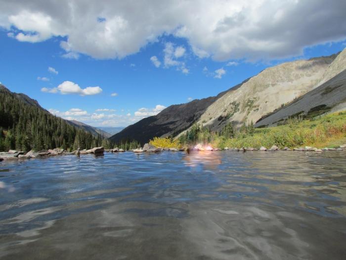 The Conundrum Hot Springs, Colorado