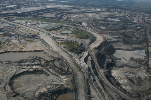 The wilderness of the...tar sands?? (CBSnews)